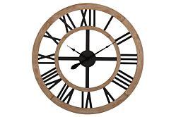 Horloge Rustique chiffres Romains MDF
