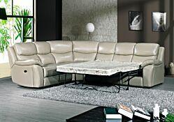 Salon d'angle 3500 convertible en lit  + relax