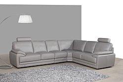 Salon d'angle en cuir A860