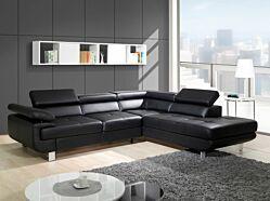 Salon d'angle Lotos convertible en lit + coffre